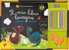 Antondemarirreguera.es Gli amici dinosauri. Il mio libro lavagna. Con gadget Image