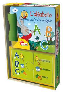 Mercatinidinataletorino.it L' alfabeto di Giulio Coniglio. Ediz. a colori Image