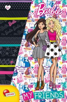 Barbie my friends. Barbie sketchbook. Ediz. a colori. Ediz. a spirale. Con gadget - copertina