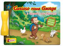 Premioquesti.it A passeggio con George. Curioso come George. Ediz. a colori. Ediz. a spirale Image