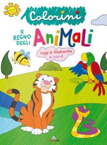 Il regno degli animali. Colorini. Ediz. a colori.pdf