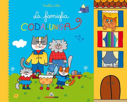 La famiglia Codalunga. Ediz. a colori - Nicoletta Costa - copertina