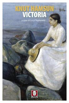 Victoria - Knut Hamsun - copertina