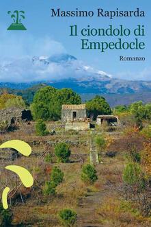 Il ciondolo di Empedocle - Massimo Rapisarda - copertina