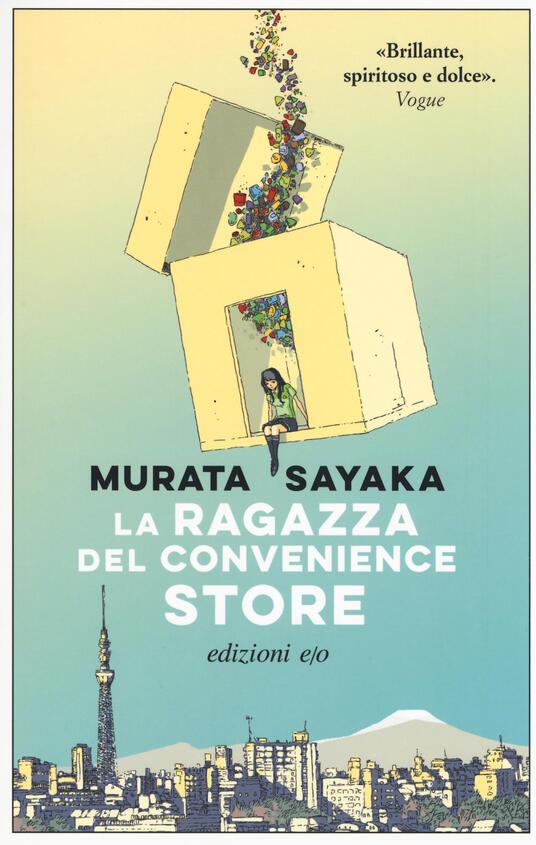 La ragazza del convenience store - Sayaka Murata - copertina