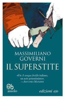 Il superstite - Massimiliano Governi - ebook