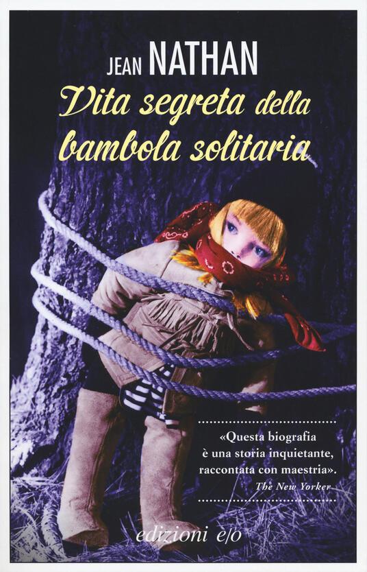 La vita segreta della bambola solitaria - Jean Nathan - copertina