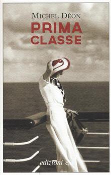 Prima classe - Michel Déon - copertina