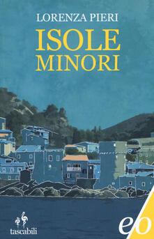 Isole minori - Lorenza Pieri - copertina