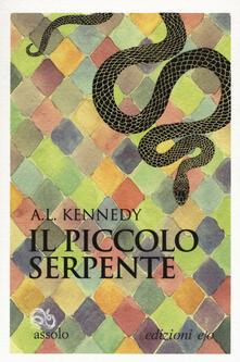 Il piccolo serpente - A. L. Kennedy - copertina