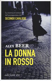 La donna in rosso - Alex Beer - copertina