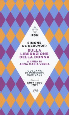 Sulla liberazione della donna - Simone de Beauvoir - copertina