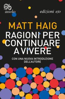 Ragioni per continuare a vivere - Elisa Banfi,Matt Haig - ebook