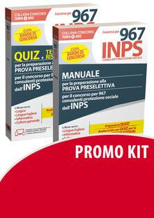 Nordestcaffeisola.it 967 Inps concorso kit. Manuale preparazione preselettiva-Quiz Image