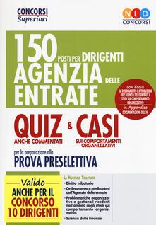 Cefalufilmfestival.it Quiz e Casi. 150 posti per dirigenti di seconda fascia dell'Agenzia delle Entrate Image