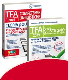 Daddyswing.es TFA. Docenti di sostegno. Scuola secondaria di I e II grado-TFA. Competenze linguistiche. Teoria e quiz per la preparazione alla prova preselettiva. Kit Image