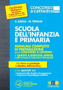 Secchiarapita.it Scuola dell'infanzia e scuola primaria. Manuale completo di preparazione per il concorso a cattedra Image