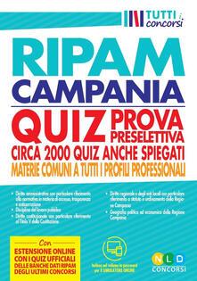 Fondazionesergioperlamusica.it Concorso regione Campania. Quiz RIPAM prova preselettiva. Circa 2000 quiz anche spiegati. Materie comuni a tutti i profili professionali. Con software di simulazione Image