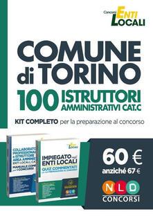 Voluntariadobaleares2014.es Comune di Torino. 100 istruttori amministrativi cat. C. Kit completo per la preparazione al concorso. Con software di simulazione Image