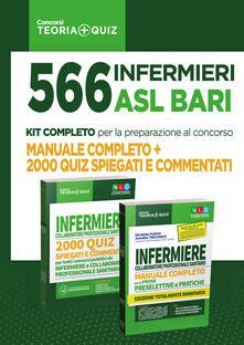 Secchiarapita.it Concorso 566 infermieri ASL Bari: manuale completo + 2000 quiz spiegati e commentati Image