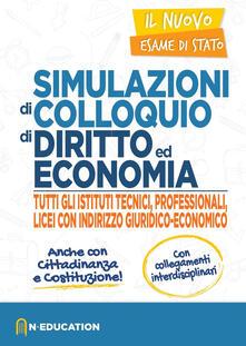 Steamcon.it Simulazione di colloquio di diritto e economia per tutti gli istituti tecnici Image