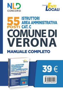 Winniearcher.com 55 posti istruttori area amministrativa cat. C. Comune di Verona. Manuale completo Image