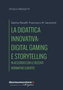 Osteriacasadimare.it La didattica innovativa: digital gaming e storytelling. In accordo con le recenti normative europee Image