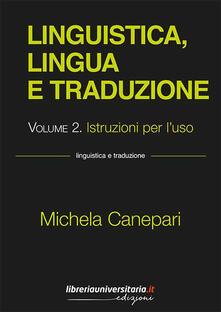3tsportingclub.it Linguistica, lingua e traduzione. Vol. 2: Istruzioni per l'uso. Image