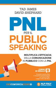 Winniearcher.com PNL per il public speaking. Moltiplica l'efficacia della comunicazione in pubblico con la PNL Image