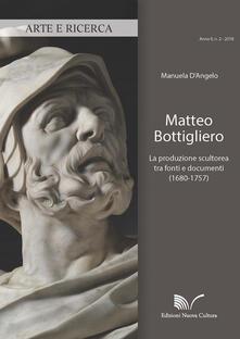 Camfeed.it Matteo Bottigliero. La produzione scultorea tra fonti e documenti (1680-1757) Image