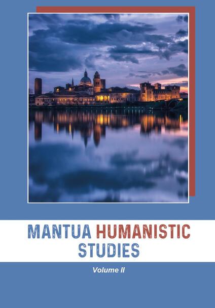 Mantua humanistic studies. Vol. 2 - copertina