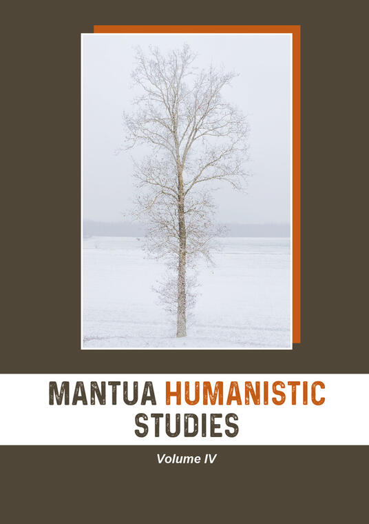 Mantua humanistic studies. Vol. 4 - copertina