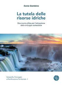 La tutela delle risorse idriche. Una nuova sfida per l'attuazione dello sviluppo sostenibile - Sonia Gambino - copertina