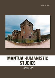 Equilibrifestival.it Mantua humanistic studies. Vol. 8 Image