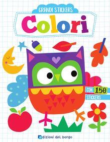 Writersfactory.it Colori. Grandi stickers Image