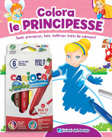 Listadelpopolo.it Colora le principesse. Con 6 pennarelli Image