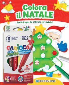 Antondemarirreguera.es Colora il Natale. Tanti disegni da colorare per Natale! Con scatola con 6 pennarelli Image