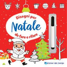 Nicocaradonna.it Disegni per Natale da fare e rifare. Con pennarello cancellabile Image