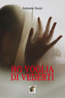 Ho voglia di vederti - Antonio Sozzi - copertina