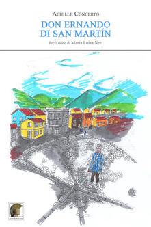 Don Ernando di San Martín - Achille Concerto - copertina
