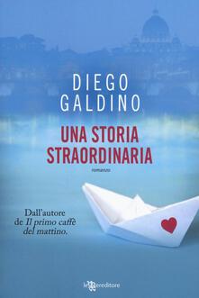 Una storia straordinaria - Diego Galdino - copertina