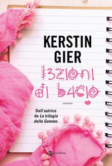 Lezioni di bacio - Kerstin Gier - copertina