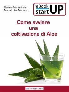 Come avviare una coltivazione di Aloe - Antonio Montefinale,Daniela Montefinale,Maria Luisa Morasso - ebook