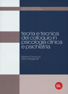 Festivalpatudocanario.es Teoria e tecnica del colloquio in psicologia clinica e psichiatria Image