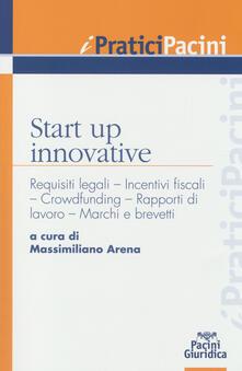 Criticalwinenotav.it Start up innovative. Requisiti legali, incentivi fiscali, crowdfunding, rapporti di lavoro, marchi e brevetti Image