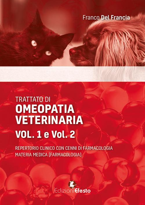 Image of Trattato di omeopatia veterinaria. Repertorio clinico con cenni di farmacologia. Materia medica