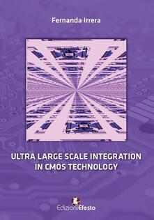 Ultralarge scale integration in CMOS technology - Fernanda Irrera - copertina