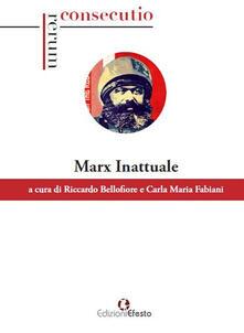 Marx inattuale - copertina