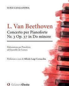 Concerto per pianoforte nr. 3 op. 37 in do minore - Ludwig van Beethoven - copertina