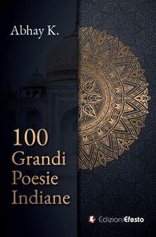 100 grandi poesie indiane - copertina